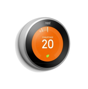 Learning Thermostat 3rd Gen Stainless Steel
